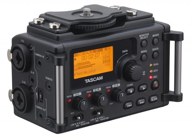 Tascam DR-60D Portable Audio Recorder