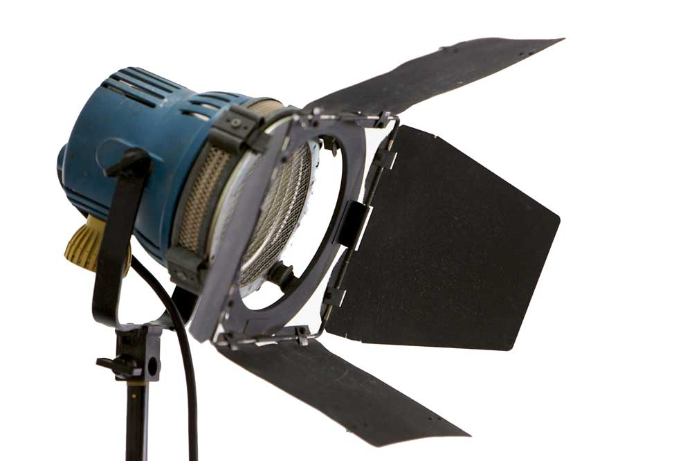 Arri 3 Head 'Redhead' Portable Lighting Kit